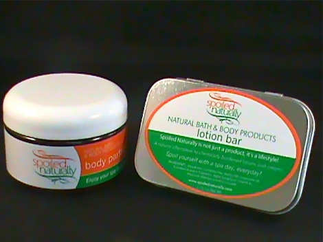 Spoiled Naturally Body Butter and Lotion Bar